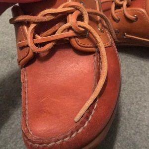 Sebago Shoes - Sebago docksides leather shoes